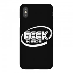 geek inside iPhoneX Case | Artistshot
