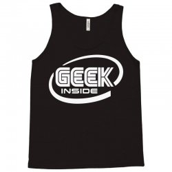 geek inside Tank Top | Artistshot