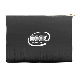 geek inside Accessory Pouches | Artistshot
