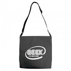 geek inside Adjustable Strap Totes | Artistshot