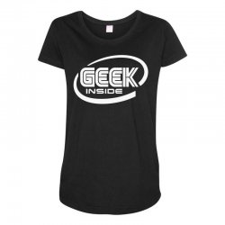 geek inside Maternity Scoop Neck T-shirt | Artistshot