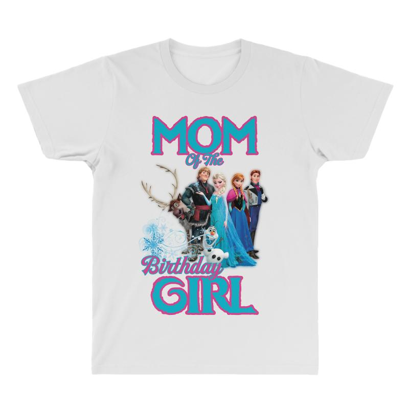 Mom Of The Birthday Girl All Over Mens T Shirt