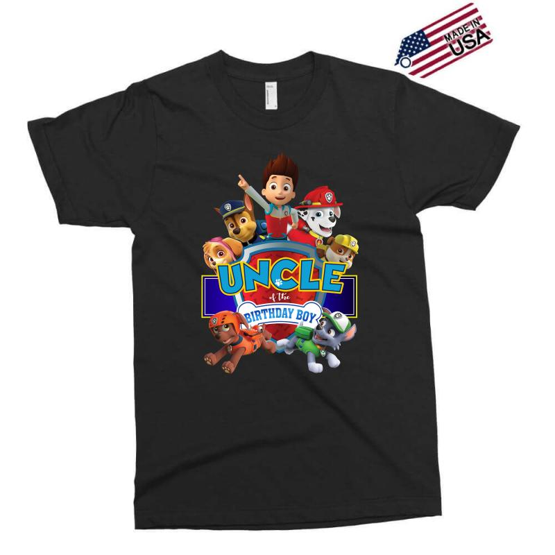 Paw Patrol Birthday Boy Uncle Exclusive T Shirt