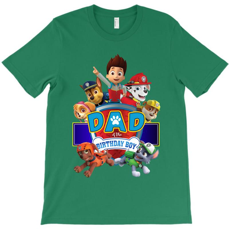 Paw Patrol Birthday Boy Dad T Shirt