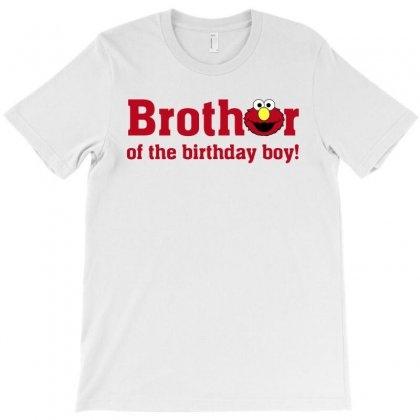 Elmo Brother Of The Birthday Boy T-shirt Designed By Sengul