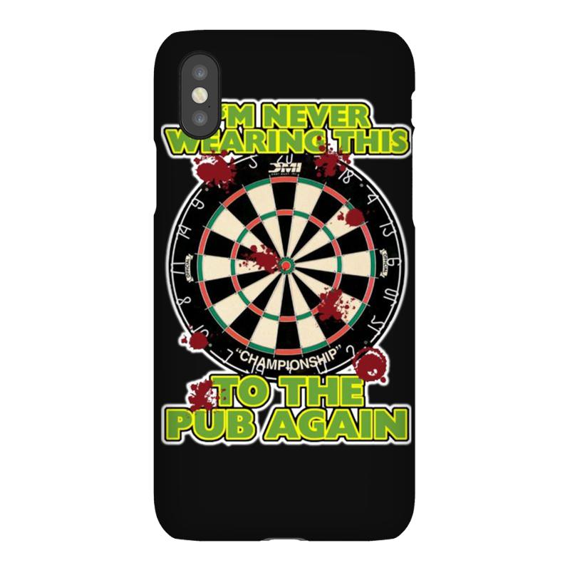 ff43ef70 funny darts i'm never wearing, ideal gift or birthday present. iPhoneX Case