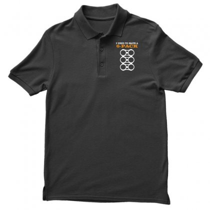 Men's I Used To Have A 6 Pack Funny Beer Gut Men's Polo Shirt