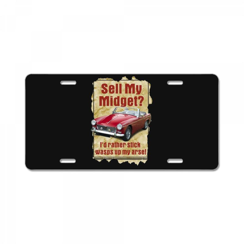 Sell Midget Ideal Birthday Gift Or Present License Plate