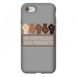nevertheless she persists iPhone 8 Case | Artistshot