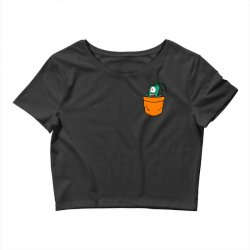 plankton pocket Crop Top | Artistshot