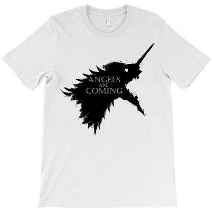 Angels Are Coming T-shirt Designed By Sbm052017