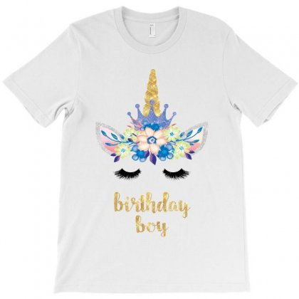 Birthday Unicorn Family Series Birthday Boy T-shirt Designed By Akin
