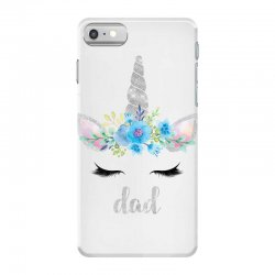 birthday unicorn family series dad iPhone 7 Case | Artistshot