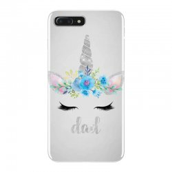 birthday unicorn family series dad iPhone 7 Plus Case | Artistshot