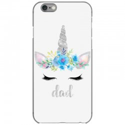 birthday unicorn family series dad iPhone 6/6s Case | Artistshot