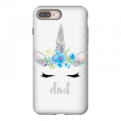 birthday unicorn family series dad iPhone 8 Plus Case | Artistshot