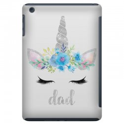birthday unicorn family series dad iPad Mini Case | Artistshot