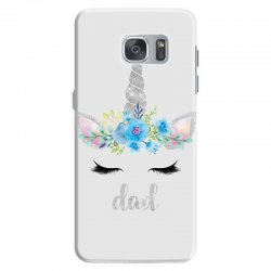 birthday unicorn family series dad Samsung Galaxy S7 Case | Artistshot