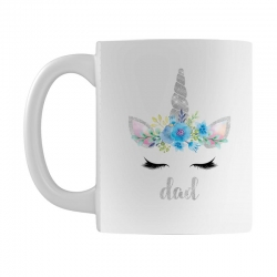 birthday unicorn family series dad Mug | Artistshot