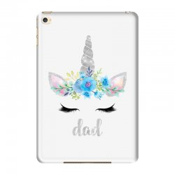birthday unicorn family series dad iPad Mini 4 Case | Artistshot