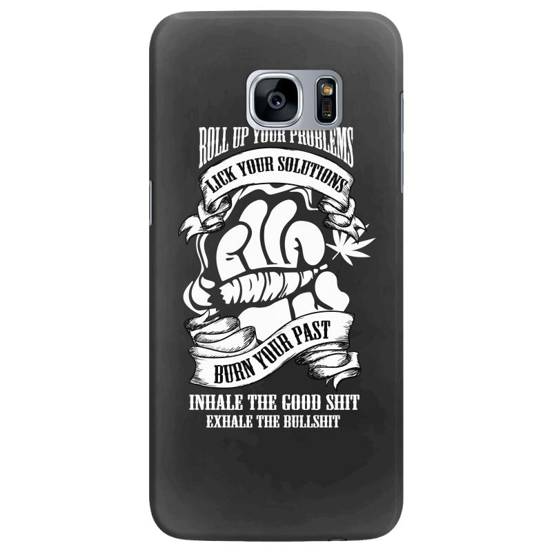 Roll Up Your Problems Samsung Galaxy S7 Edge Case  By Artistshot