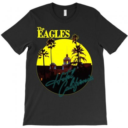 The Eagles Hotel California T-shirt Designed By Better
