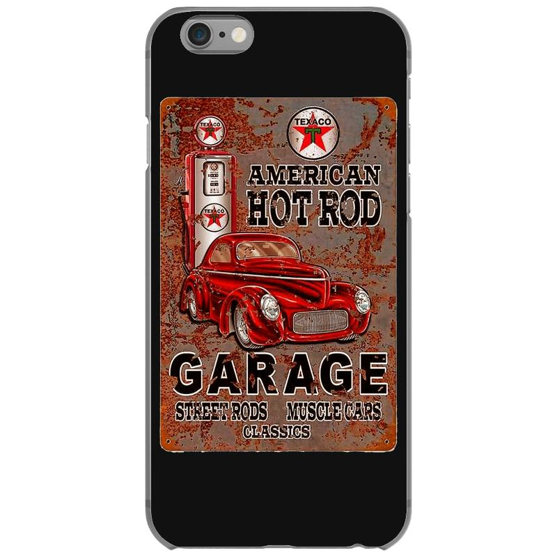 quality design 83174 406da American Hot Rod Garage Sign, Ideal Gift Or Birthday Present. Iphone 6/6s  Case. By Artistshot