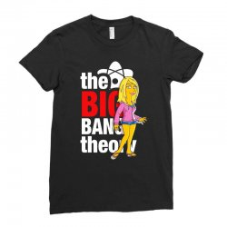 big bang theory penny, ideal gift or birthday present. Ladies Fitted T-Shirt | Artistshot