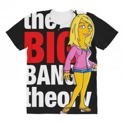 big bang theory penny, ideal gift or birthday present. All Over Women's T-shirt | Artistshot