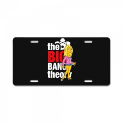 big bang theory penny, ideal gift or birthday present. License Plate | Artistshot