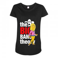 big bang theory penny, ideal gift or birthday present. Maternity Scoop Neck T-shirt | Artistshot
