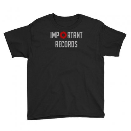 Important Records Youth Tee Designed By Mdk Art
