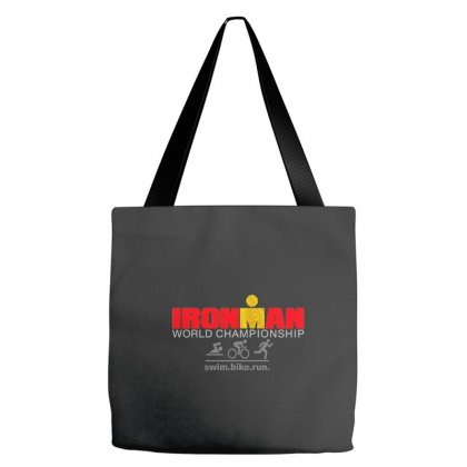 Ironman Triathlon World Championship Tote Bags Designed By Mdk Art