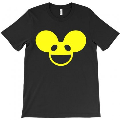 Deadmau5 Yellow Logo T-shirt Designed By Meza Design
