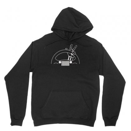 Jeep Wrangler Wave Best Trending Unisex Hoodie Designed By Mdk Art