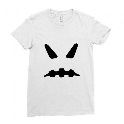 Halloween Ghost Funny Tshirt Ladies Fitted T-shirt Designed By Mdk Art