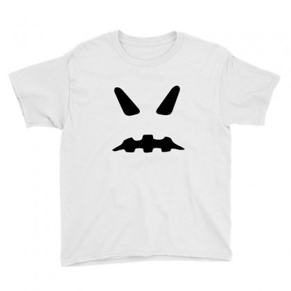 Halloween Ghost Funny Tshirt Youth Tee Designed By Mdk Art