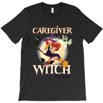 Caregiver Witch T-shirt Designed By Wizarts
