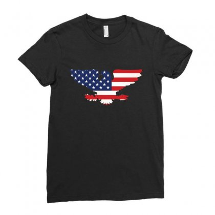 American Eagle Ladies Fitted T-shirt Designed By Wizarts