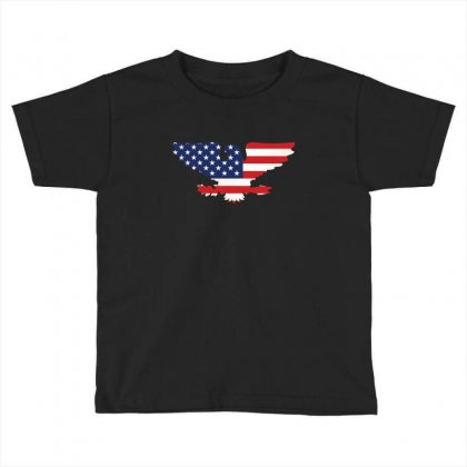 American Eagle Toddler T-shirt Designed By Wizarts