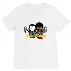 pulp fiction V-Neck Tee | Artistshot