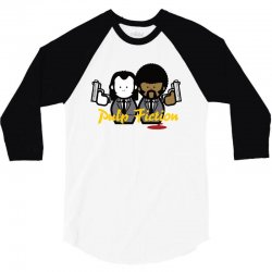 pulp fiction 3/4 Sleeve Shirt | Artistshot