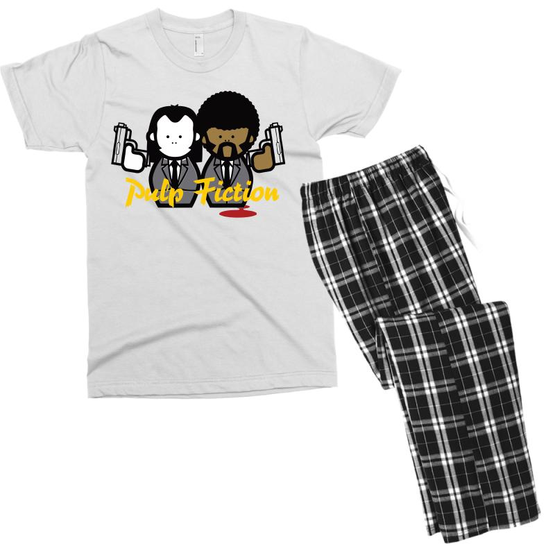 Pulp Fiction Men's T-shirt Pajama Set | Artistshot