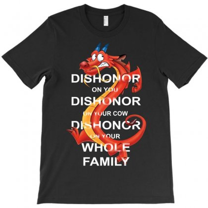Dishonor Cow T-shirt Designed By Allstreet