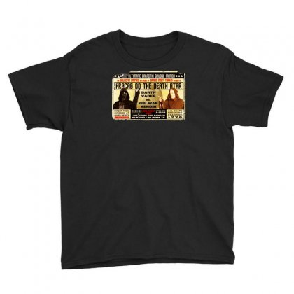 Star Wars Grudge Match Funny Fight Poster 2 Funny Birthday Present Youth Tee Designed By Mdk Art