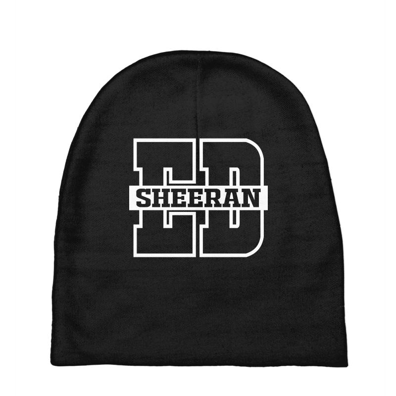 Custom Ed Sheeran Ed Logo Baby Beanies By Yellow Star - Artistshot 7d9c8ba7021