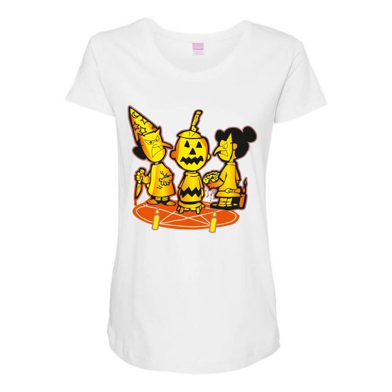 f919bade Custom Halloween Nuts Maternity Scoop Neck T-shirt By Wizarts ...