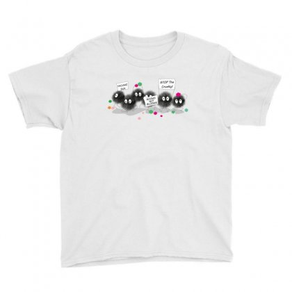 Dust Bunnies T Shirt Youth Tee Designed By Wizarts