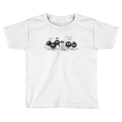 Dust Bunnies T Shirt Toddler T-shirt Designed By Wizarts