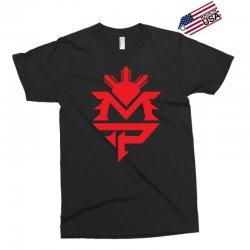 manny pacquiao red mp logo boxer sports Exclusive T-shirt | Artistshot
